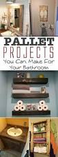 Shelves For The Bathroom 17 Pallet Projects You Can Make For Your Bathroom U2022 Pallet Ideas