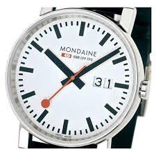 evo big date a627 30303 11sbb mondaine watch free shipping