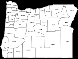 map of oregon with counties oregon maps and data myonlinemaps or maps