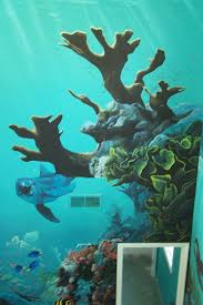 under the sea mural idea as seen on www findamuralist com wall