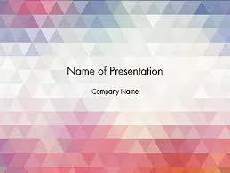 templates powerpoint abstract abstract pastel colorful triangle pattern powerpoint template