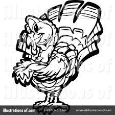 turkey clipart 1126994 illustration by chromaco
