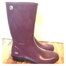 ugg boots in womens size 12 47 ugg shoes s ugg shaye boot size 12 color plum