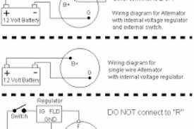 toyota 4 wire alternator wiring diagram wiring diagram