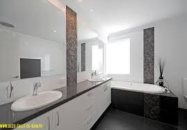 deco moderne chambre awesome decoration salle de bain noir et blanc contemporary avec