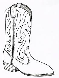 viewing gallery for cowboy boot coloring special cowboy boots