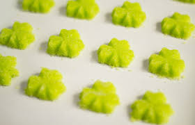 how to make shamrock sugar cubes the bearfoot baker