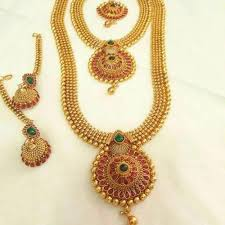 short necklace images Bridal necklace long short necklace set online hayagi jpg