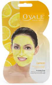 Masker Garnier Lemon garnier light complete whitening peel mask for skin