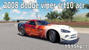 build dodge viper forza horizon 3 2008 dodge viper 1515hp build and tune