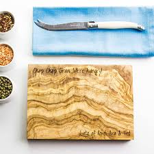 Cooking Board by Personalised Olive Wood Chopping Board By The Rustic Dish