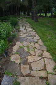 Pictures Of Stone Walkways by Stone Walkways Dirt Simple