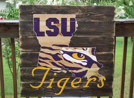 lsu home decor wall art design ideas tiger eye lsu wall art wooden hardwood