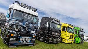 mercedes of peterborough your truck on the mercedes stand at truckfest