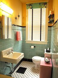Modern Retro Bathroom Bathroom Modern Retro Bathroom Renovation Intended Vintage Ideas