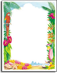 themed paper view 62lp tropical parrot paper