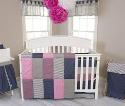 Baby Bedding Set Matching Pink And Green Boy Nursery Bedding Sets For