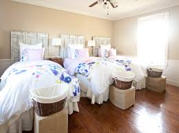 farmhouse bedroom with watercolor bedding cedar hill farmhouse