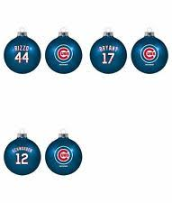 chicago cubs mlb ornaments ebay