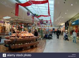 christmas decorations and shopping at festival place in