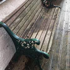 Cast Bench Ends Garden Bench With Extremely Decorative Solid Cast Iron Ends Bench