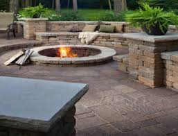 Backyard Patio Stones Engrossing Concrete Stone Patio Ideas Tags Stone Patio Ideas