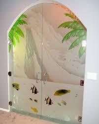 glass doors designs painted glass sans soucie art glass