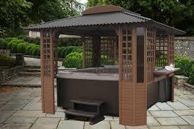 freestanding tubtop spa gazebos and tub enclosures by