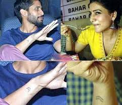 samantha tattoo on her neck naga chaitanya reveals meaning behind tattoos