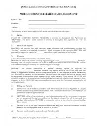 computer repair work order form application form template free