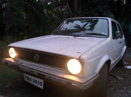 old volkswagen rabbit smokey the rabbit 1980 vw golf team bhp