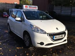 peugeot uk used used 2013 peugeot 208 access plus 5dr for sale in hyde cheshire