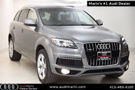 audi q7 deals pre owned vehicle specials in san rafael at audi marin used car
