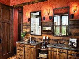 Rustic Bathrooms Log Cabin Master Bedroom Ideas Rustic Bathroom Ideaslog Design
