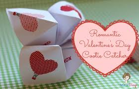 valentines day ideas for couples s day cootie catcher notes atta girl says