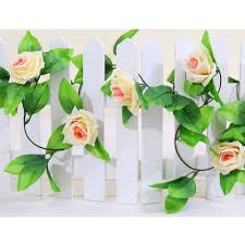 Flower Home Decor Artificial Rose Garland Flower Vine Ivy Home Decor Wed Direct