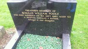grave site of ronald william poole 1985 billiongraves