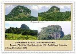 imagenes monumentos naturales de venezuela monumento morros de macaira tucuy