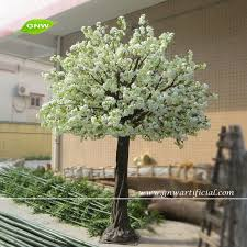 gnw bls048 ivory custom size wedding blossom tree artificial cherry