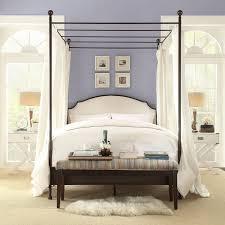 Diy Canopy Bed Diy Canopy With Commanddiy Frame Girls Curtains Ideas Lightsdiy