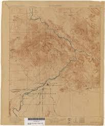 Map Of Arizona Cities Arizona Historical Topographic Maps Perry Castañeda Map