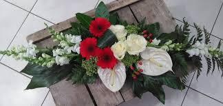 Deco Mariage Blanc Et Rouge by Mariage L U0027ile Aux Fleurs