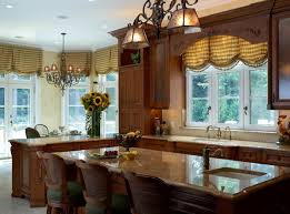 curtains style of kitchen window treatment ideas beautiful small