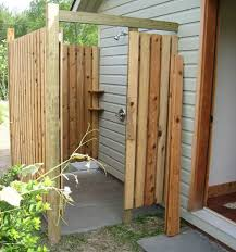 How To Create An Outdoor by How To Build An Outdoor Shower