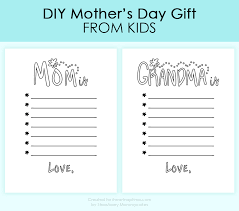 easy diy s day gift diy s day gift from kids i heart nap time