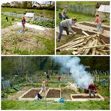 creating a garden pt 3 raised beds and fencing u2013 homegrown kate