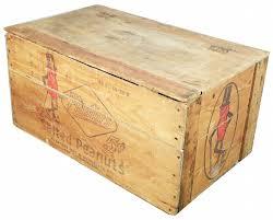 planter u0027s peanut wood shipping crate
