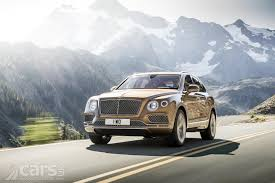 bentley crewe first bentley bentayga suv rolls off the production line in crewe
