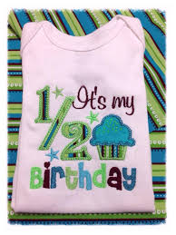 birthday onesie its my half birthday onesie celebrate babies half birthday