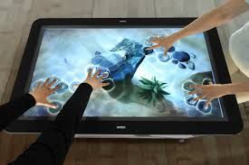 Computer Coffee Table Multi Touch Screen Coffee Table Raspberry Pi Coffee Tables